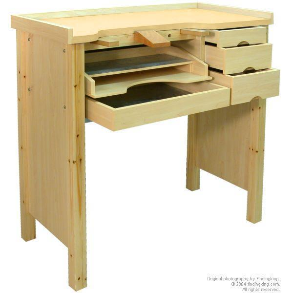 Findingking Jewelers Work Bench W/ Aluminum Work Pan 5 Drawer at Sears.com