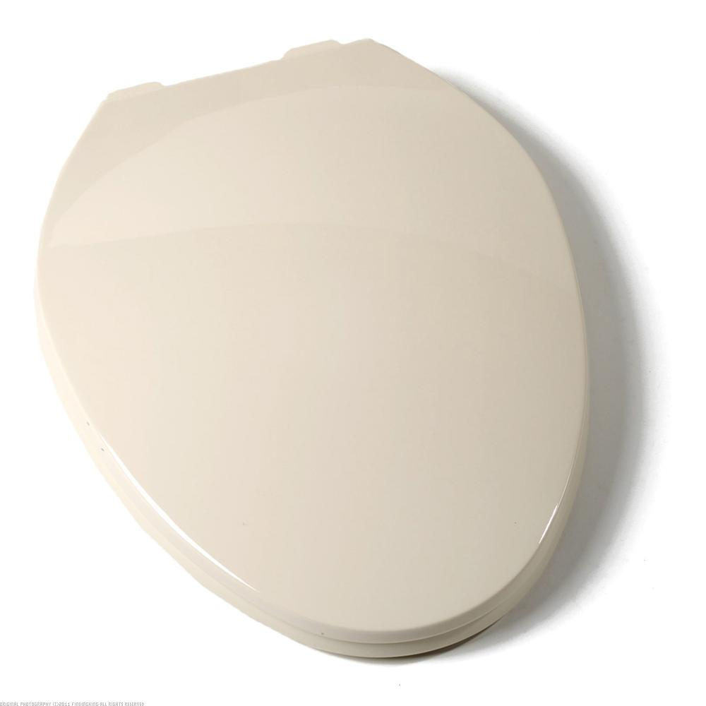 Findingking Elongated Contemporary Toilet Seat w/Closed Front Bone at Sears.com