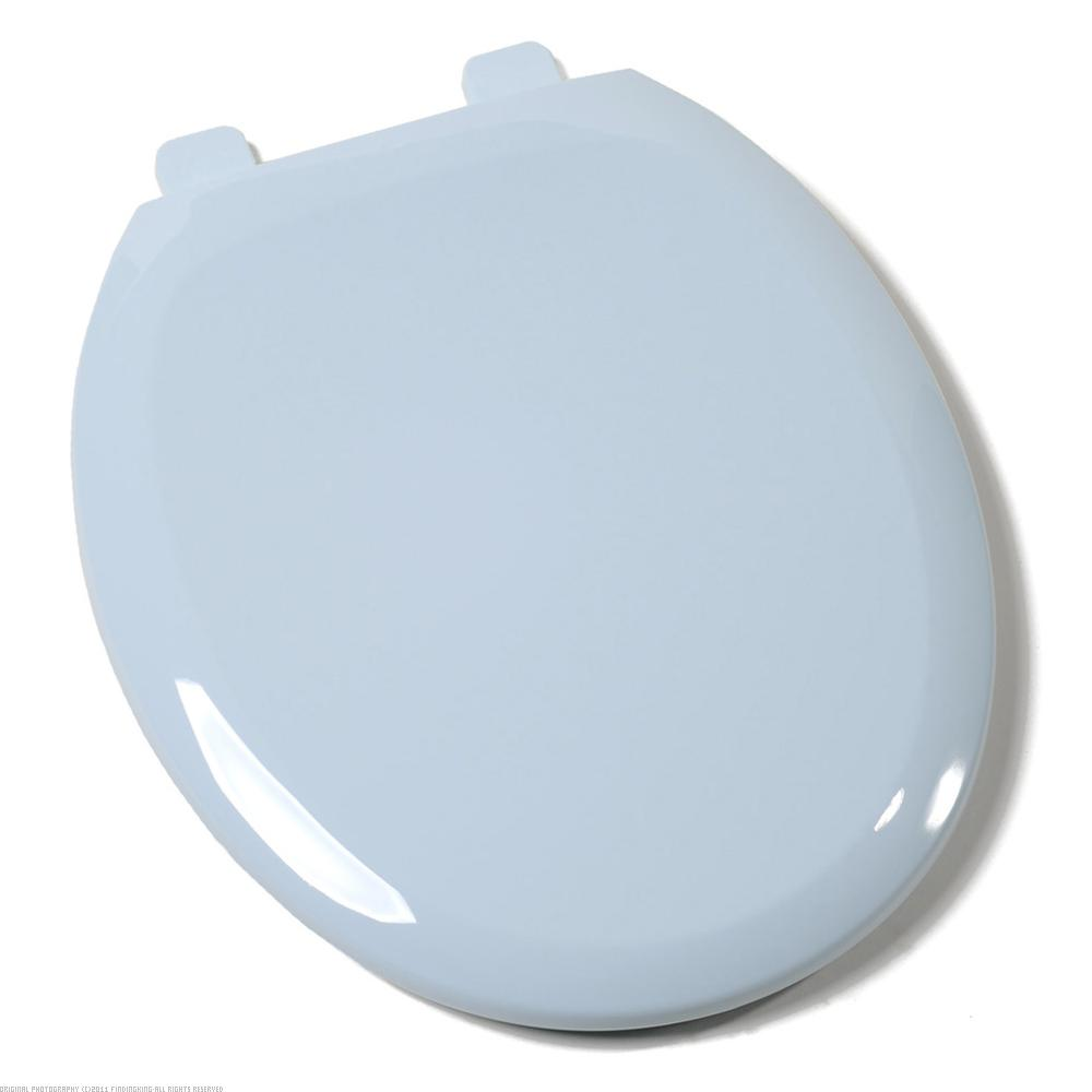 Findingking EZ Close Plastic Elongated Toilet Seat w/Closed Front at Sears.com