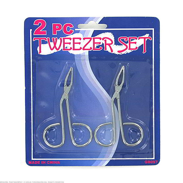 Findingking 144 Packs of 2 Tweezers Sets at Sears.com