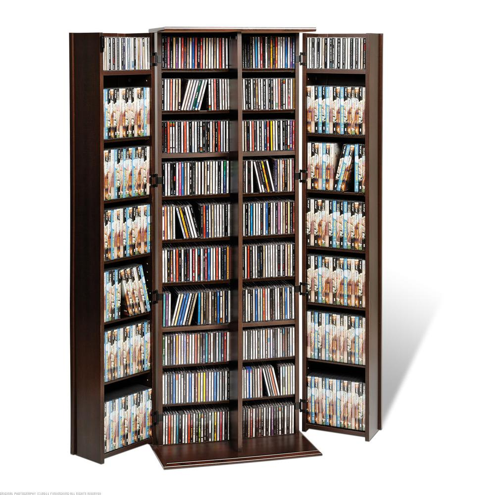 Findingking PrePac Espresso Grande Locking Media Storage Cabinet with Shaker Doors at Sears.com