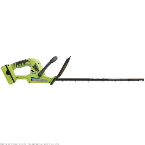 Findingking Earthwise 18 Volt Lithium Ion Cordless Electric Hedge Trimmer at Sears.com
