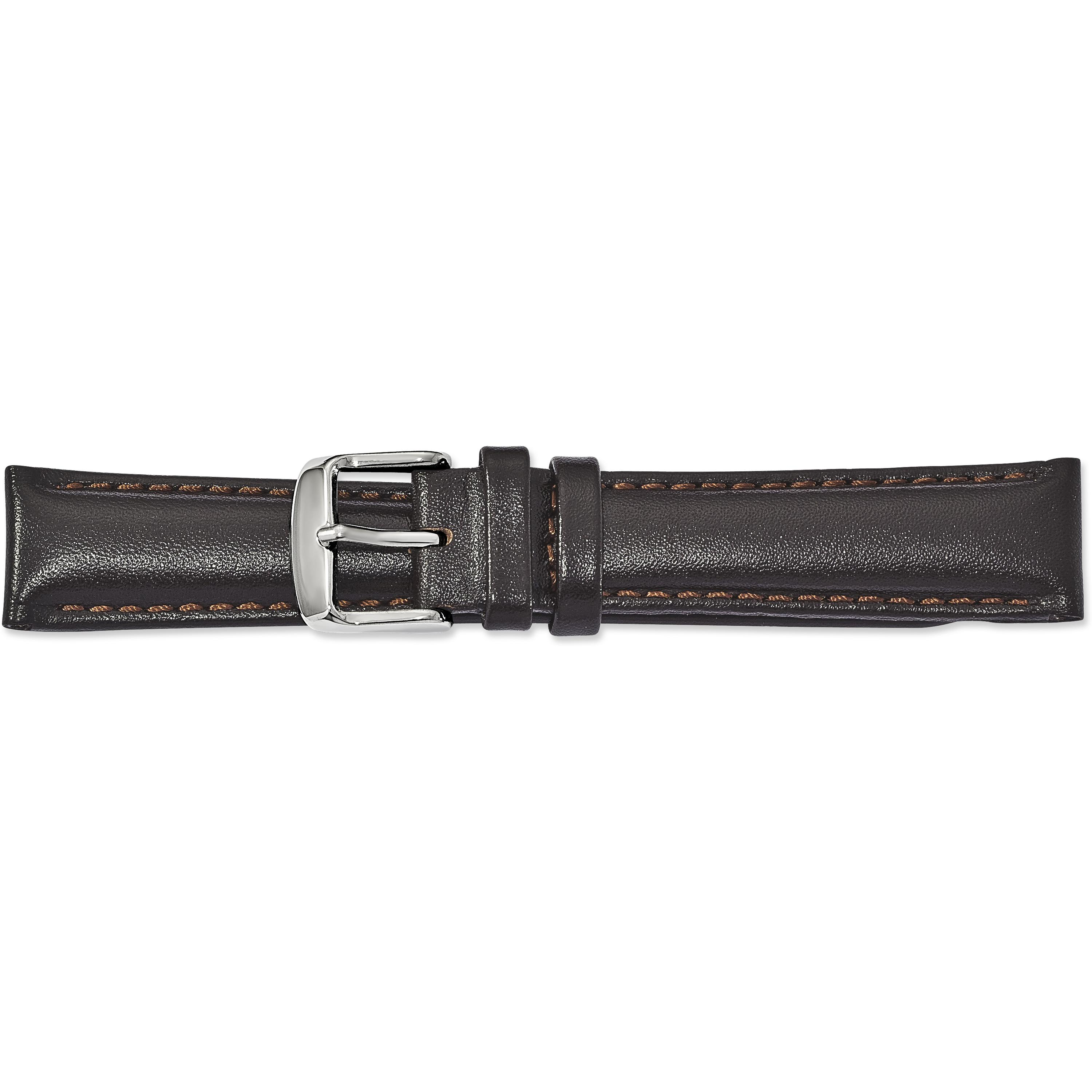 Findingking de Beer Brown Leather Watch Band 22mm at Sears.com