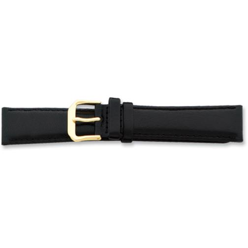 Findingking de Beer Black Leather Watch Band 12mm at Sears.com