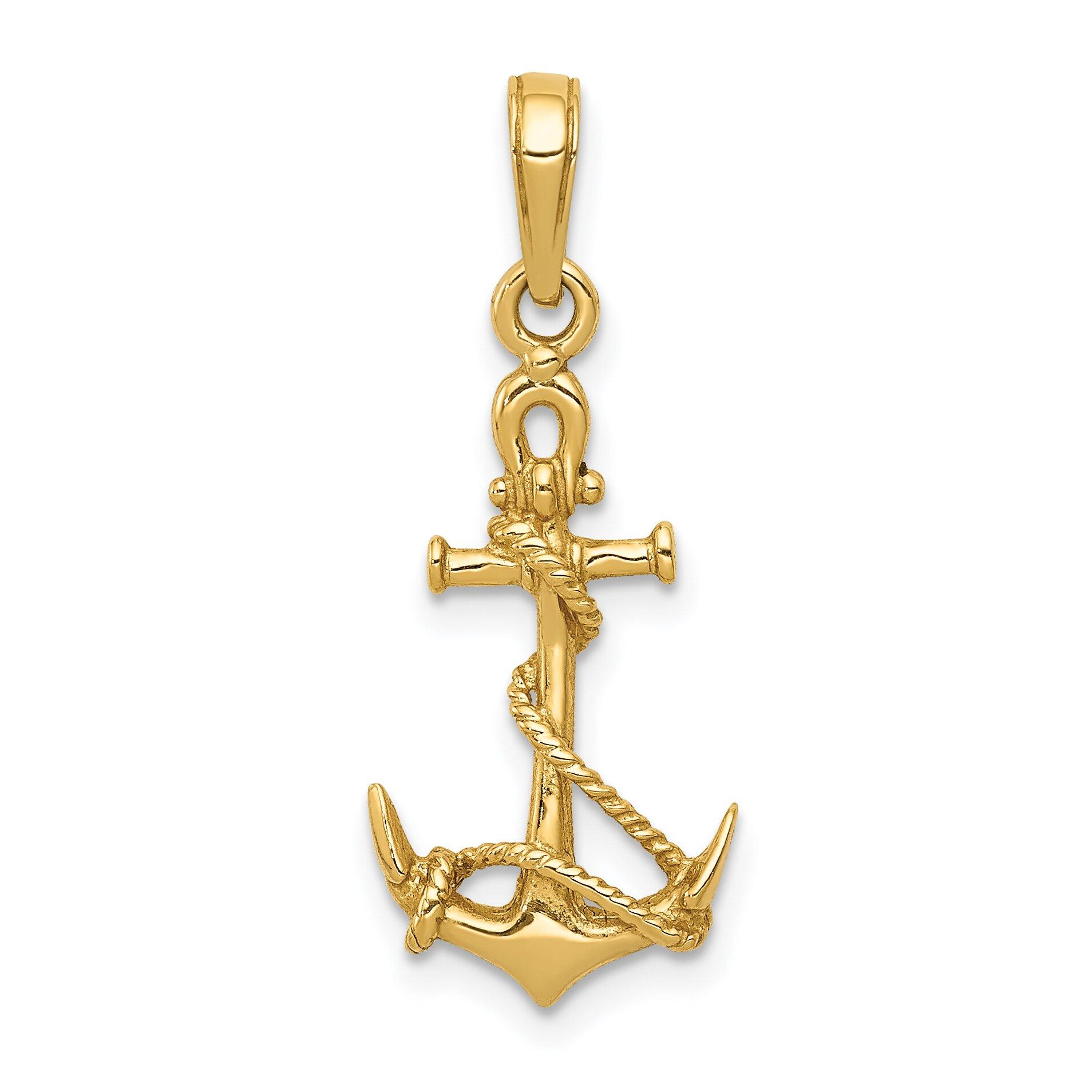 3d gold anchor photo - photo #13