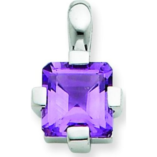 Findingking Sterling Silver Amethyst Pendant Charm Jewelry at Sears.com