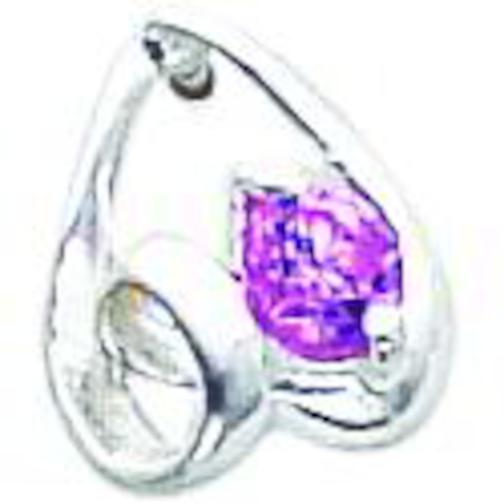 Findingking Sterling Silver Pink CZ Earrings Fancy Jewelry at Sears.com