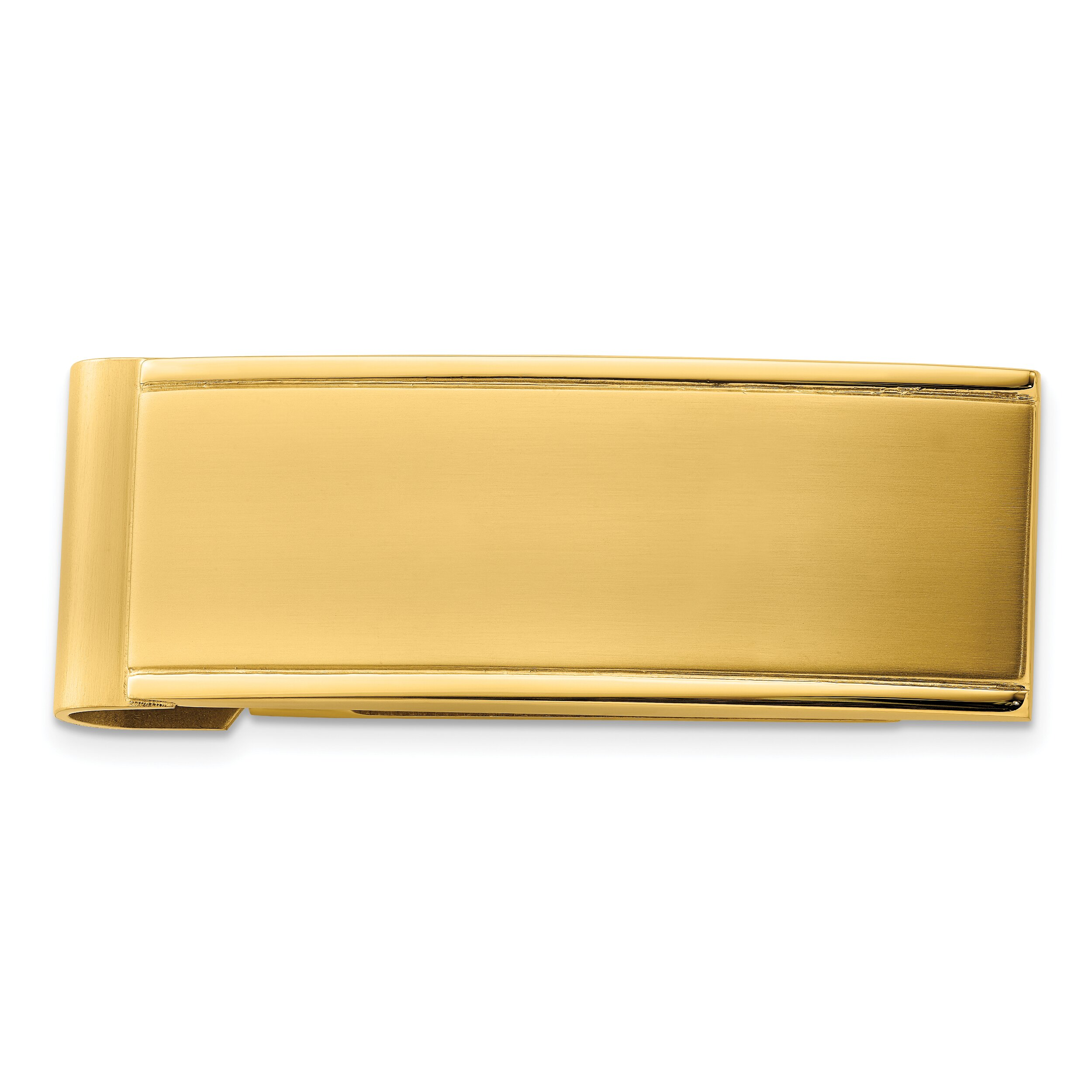 Findingking Stainless Steel Gold Plated Mens Money Clip Engravable at Sears.com