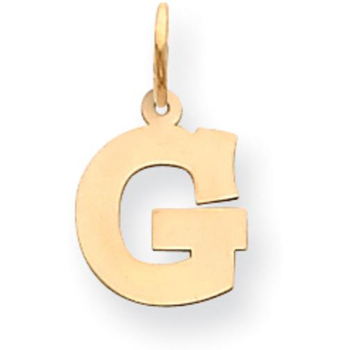 "Findingking Letter ""G"" Charm 14k Gold at Sears.com"