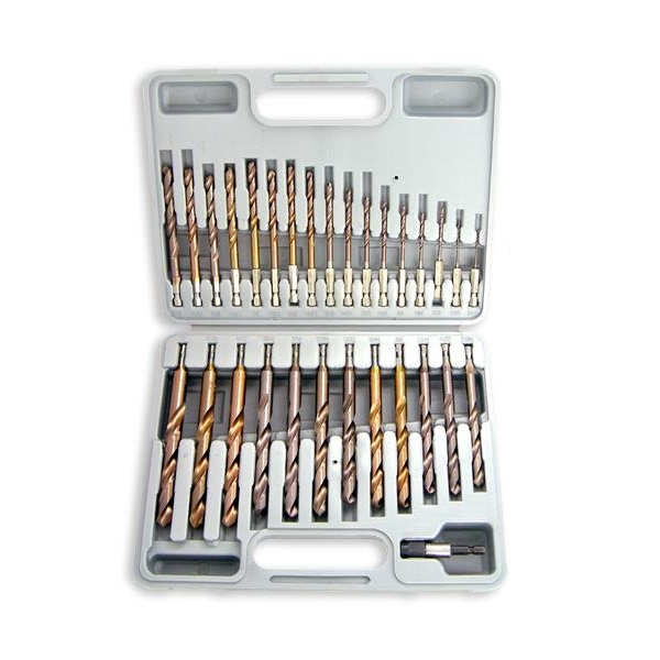 Findingking 30 Pcs Neiko Cobalt Coated Drill Bits Hex Shank at Sears.com